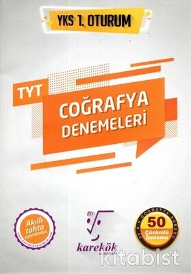 Karekök Yayınları - TYT Coğrafya 50 li Deneme Sınavı 1.Oturum