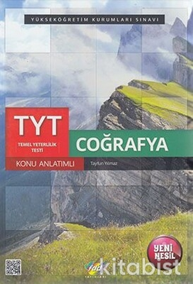 Fdd Yayınları - TYT Coğrafya Konu Anlatımlı