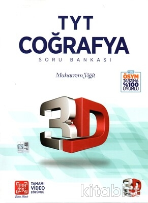 3D Yayınları - TYT Coğrafya Soru Bankası