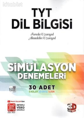 3D Yayınları - TYT Dil Bilgisi 30 Lu Simülasyon Denemeleri
