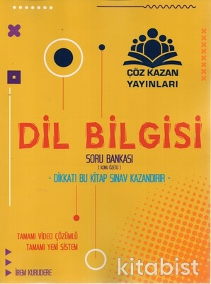 Çöz Kazan Yayınları - TYT Dil Bilgisi Konu Özetli Soru Bankası