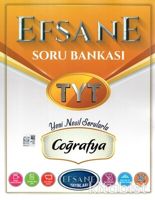 Açı Yayınları - TYT Efsane Coğrafya Soru Bankası