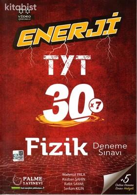 Palme Yayınları - TYT Enerji Fizik 30x7 Deneme Sınavı