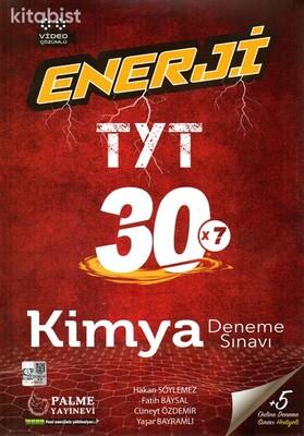 Palme Yayınları - TYT Enerji Kimya 30x7 Deneme Sınavı