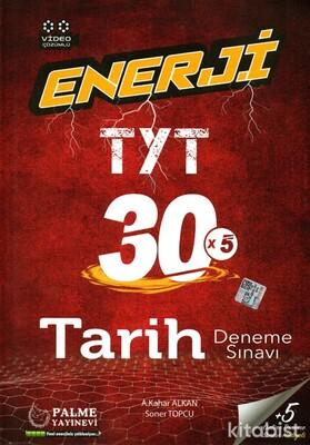Palme Yayınları - TYT Enerji Tarih 30x5 Deneme Sınavı