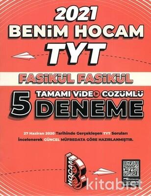 Benim Hocam Yayınları - TYT Fasikül Fasikül Tamamı Video Çözümlü 5 Li Deneme Sınavı-2021