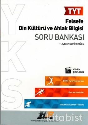 Hız ve Renk Yayınları - TYT Felsefe - Din Kültürü ve Ahlak Bilgisi Soru Bankası