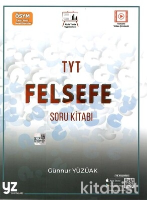 Yz Yayınları - TYT Felsefe Soru Kitabı