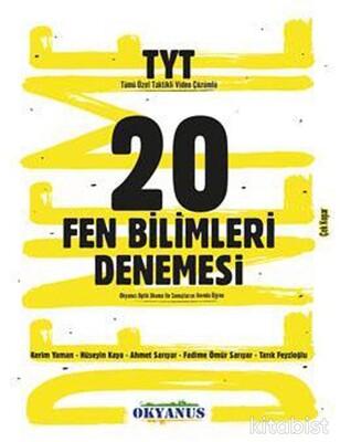 Okyanus Yayınları - TYT Fen Bilimleri 20'li Deneme Sınavı