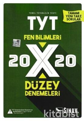 Sınav Yayınları - TYT Fen Bilimleri 20x20 Düzey Deneme Sınavı