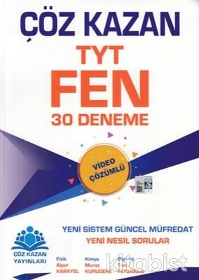 Çöz Kazan Yayınları - TYT Fen Bilimleri 30 lu Deneme Sınavı