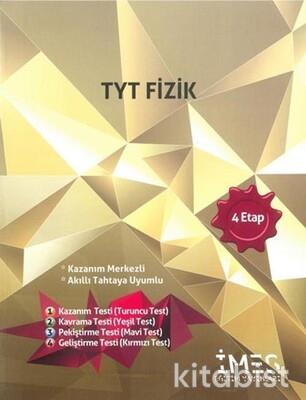İmes Eğitim Yayınları - TYT Fizik 4.Etap Soru Bankası