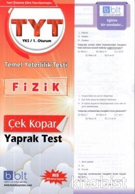 Bulut Eğitim Yayınları - TYT Fizik Yaprak Test
