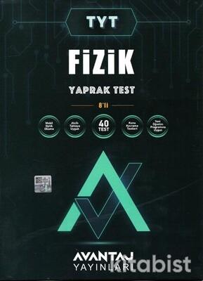 Avantaj Yayınları - TYT Fizik Konu Kazanım Yaprak Test (8 Öğrencilik)