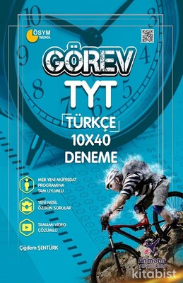 Armada Yayınları - TYT Görev Türkçe 10X40 Deneme