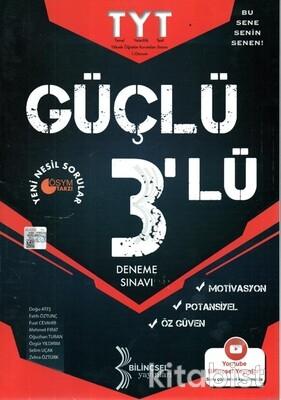 Bilinçsel Yayınları - TYT Güçlü 3 Lü Deneme Sınavı