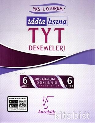 Karekök Yayınları - TYT İddialısına 6 lı Denemeleri