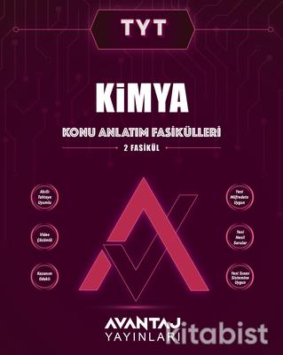 Avantaj Yayınları - TYT Kimya Konu Fasikülleri