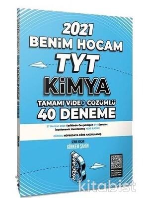 Benim Hocam Yayınları - TYT Kimya Video Çözümlü 40'lı Deneme Sınavı - 2021