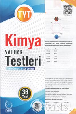 Palme Yayınları - TYT Kimya Yaprak Test
