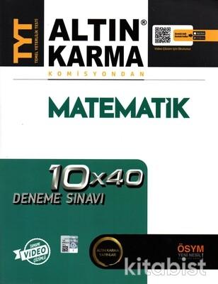 Altın Karma Yayınları - TYT Komisyondan Matematik 10X40 Deneme Sınavı