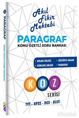 Akıl Fikir Mektebi - TYT-KPSS-DGS-ALES Paragraf Soru Bankası