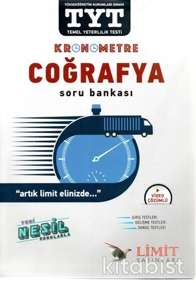 Limit Yayınları - TYT Kronometre Coğrafya Soru Bankası