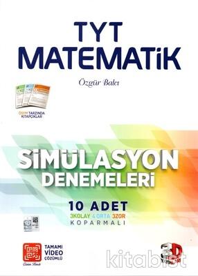 3D Yayınları - TYT Matematik 10'lu Deneme Sınavı