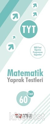 Nitelik Yayınları - TYT Matematik 60'lı Yaprak Test