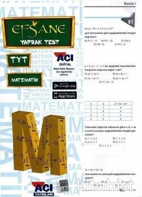 Açı Yayınları - TYT Matematik Çek Kopar Yaprak Test