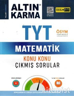 Altın Karma Yayınları - TYT Matematik Konu Konu Çıkmış Sorular