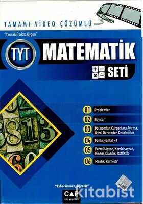 Çap Yayınları - TYT Matematik Seti