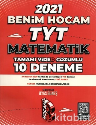 Benim Hocam Yayınları - TYT Matematik Tamamı Çözümlü 10'lu Deneme Sınavı