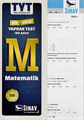 Sınav Yayınları - TYT Matematik Yaprak Test