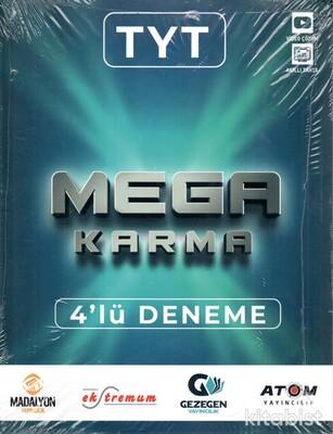 Gezegen Yayınları - TYT Mega Karma 4'lü Deneme Sınavı