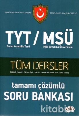 Editör Yayınları - TYT-MSÜ Tüm Dersler Tamamı Çözümlü Soru Bankası