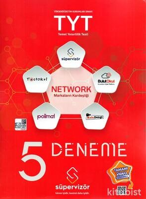 Süpervizör Yayınları - TYT Network 5 Li Deneme Sınavı