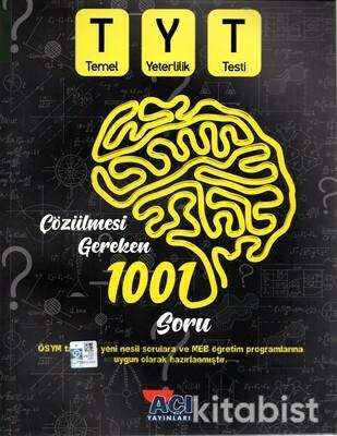 Açı Yayınları - TYT Öncesi Çözülmesi Gereken 1001 Soru
