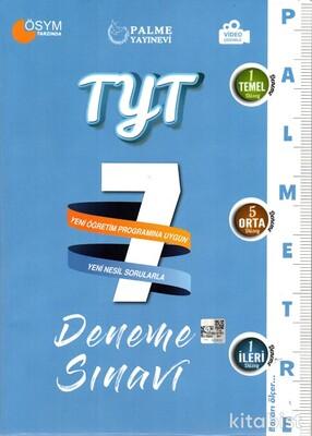 Palme Yayınları - TYT Palmetre 7'li Deneme Sınavı