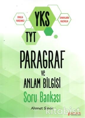 Faktör Yayınları - TYT Paragraf ve Anlam Bilgisi Soru Bankası