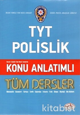 Editör Yayınları - TYT Polislik Tüm Dersler Konu Anlatımı