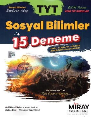 Miray Yayınları - TYT Sosyal Bilimler 15 Deneme
