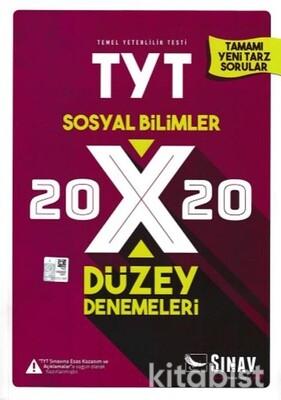 Sınav Yayınları - TYT Sosyal Bilimler 20x20 Düzey Deneme Sınavı