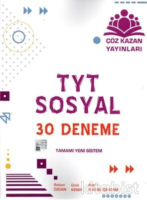 Çöz Kazan Yayınları - TYT Sosyal Bilimler 30'lu Deneme Sınavı