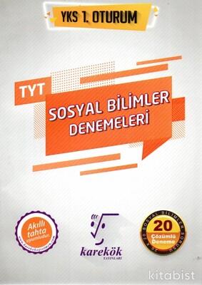 Karekök Yayınları - TYT Sosyal Bilimler Denemeleri