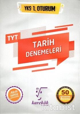 Karekök Yayınları - TYT Tarih 50 li Deneme Sınavı 1.Oturum