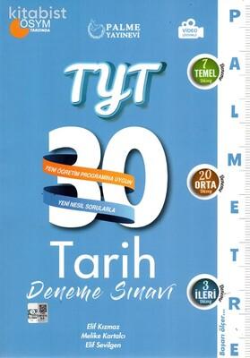 Palme Yayınları - TYT Tarih Palmetre 30 Lu Deneme Sınavı
