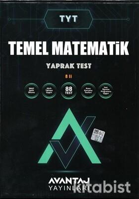 Avantaj Yayınları - TYT Temel Matematik Konu Kazanım Yaprak Test (8 Öğrencilik)