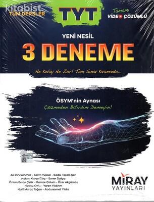 Miray Yayınları - TYT Tüm Dersler 3'lü Deneme