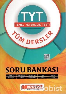 Referans Yayınları - TYT Tüm Dersler Soru Bankası